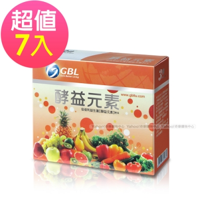 GBL功能型益生菌EX(酵益元素)(30包/盒)*(6+1入)