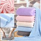 EZlife纖柔菠羅格超吸水毛巾浴巾組(贈內衣小物附蓋收納盒)