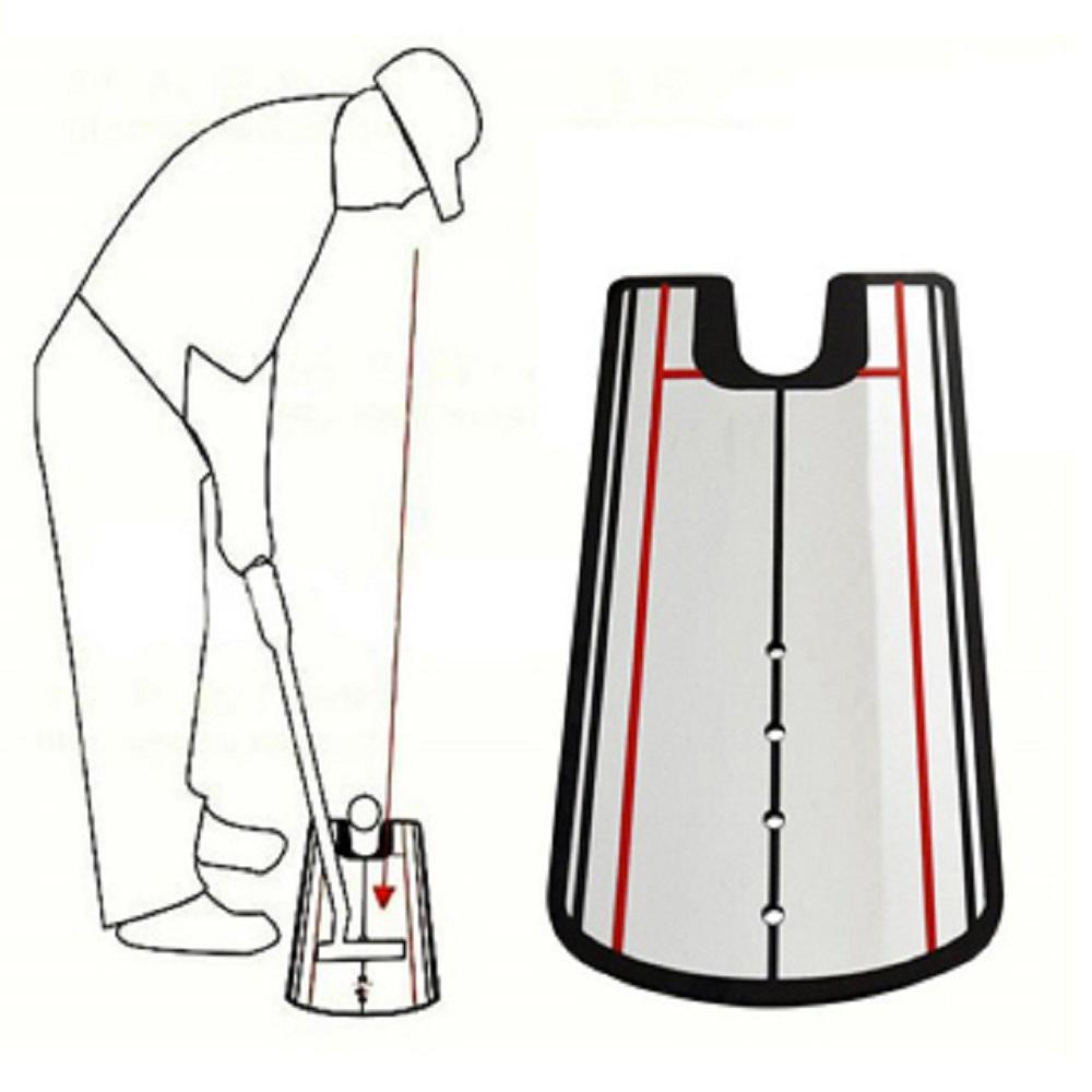【LOTUS】新一代 高爾夫 推桿練習鏡