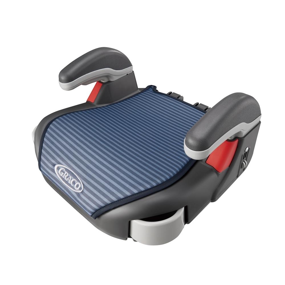 【Graco】 COMPACT JUNIOR 幼兒成長型輔助汽車安全座椅 (線條藍)