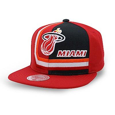 M&N NBA 隊徽平板帽 熱火隊