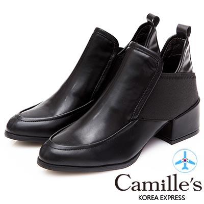 Camille-s-韓國空運-深口樂福拼接雙側繃帶