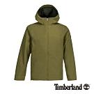 Timberland 男款青綠色可收納智能穿搭防水連帽外套|A1ZQZ