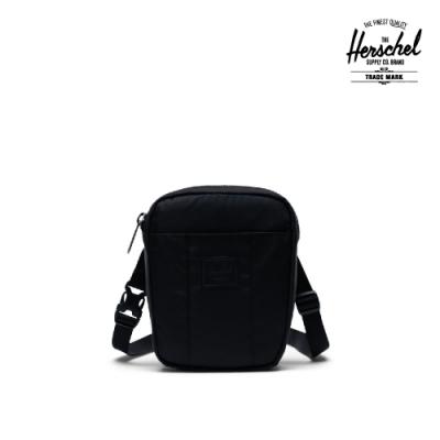 【Herschel】Cruz 斜背包-黑色(飛行緞)