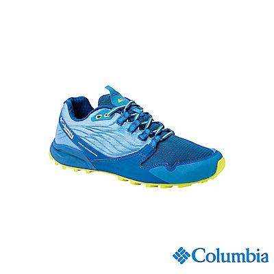 Columbia 哥倫比亞 男款-多功能輕量野跑鞋-藍色 UBM19150BL