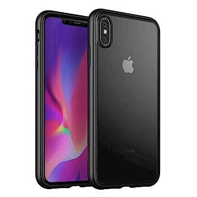 IN7 魔影系列 iPhone XS Max 透黑磨砂款防摔保護殼