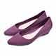 TTSNAP雨鞋-晴雨兩用粉嫩低跟防水鞋 紫 product thumbnail 1