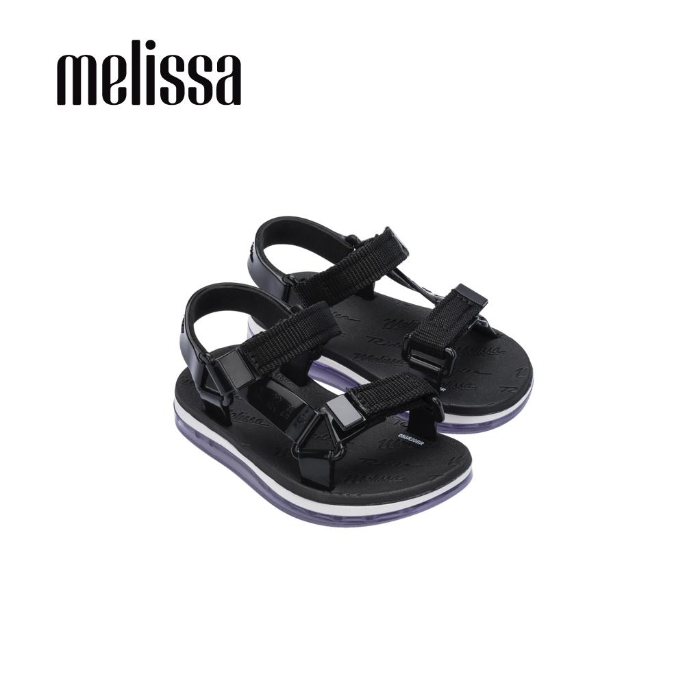 Melissa x Rider Good Time潮流休閒涼鞋 寶寶款-黑
