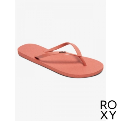 【ROXY】VIVA IV 夾腳拖 珊瑚紅