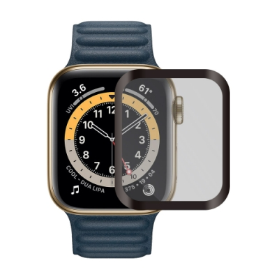 Metal-Slim Apple Watch Series 6 40mm 3D全膠滿版鋼化玻璃保護貼