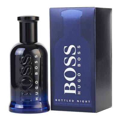 BOSS Bottled Night 自信之夜男性淡香水(夜自信)50ml(新包裝)