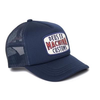Deus Ex Machina  Title Trucker 棒球帽-藍(男/女)