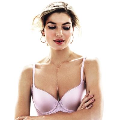 黛安芬-超彈舒柔美背 C-E罩杯內衣 淡雅紫