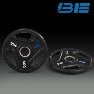 【BH】BE-O5-5KG奧林匹克包膠槓片-二入組