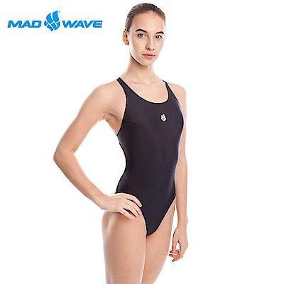 俄羅斯 邁俄威 女款連身泳衣 黑 MADWAVE LADA