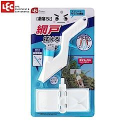 日本LEC 激落紗窗清潔海綿刷