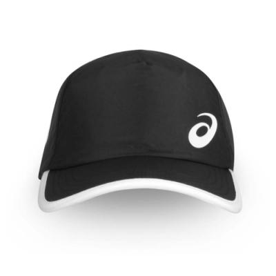 ASICS 網球帽 黑白