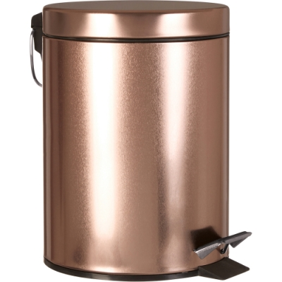 《Premier》腳踏式垃圾桶(玫瑰金5L)