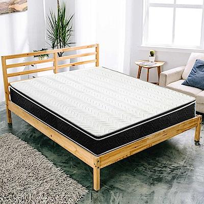 AVIS 艾維斯 檸檬之夏備長炭3D透氣正三線獨立筒床墊-雙人加大6尺