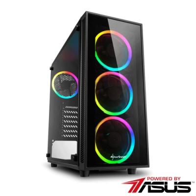 華碩Z390平台[弦月妖神]i9-9900KF/16G/2T/RTX2060S/1TB_M2
