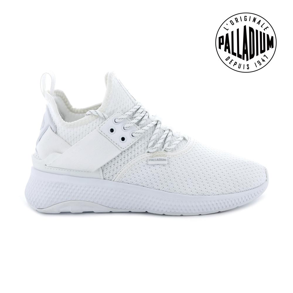 Palladium AX_EON LACE復古慢跑鞋-女-白