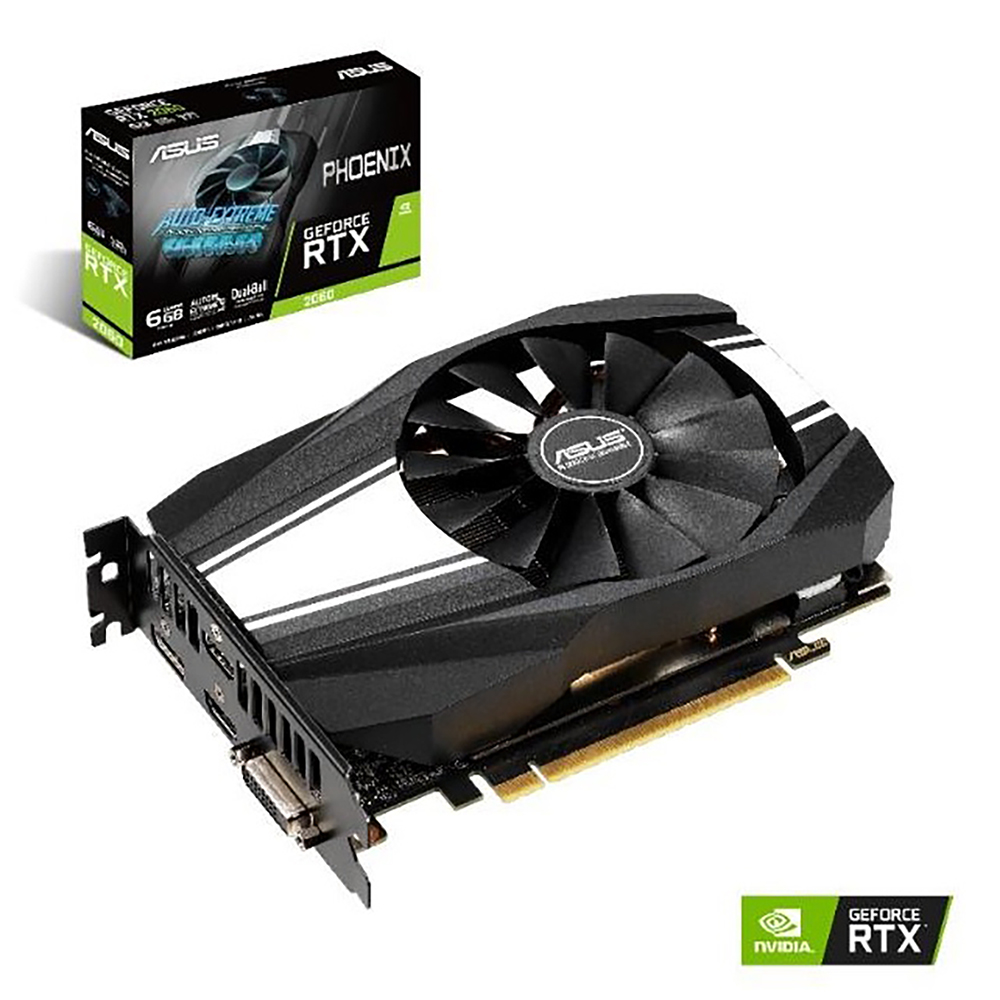 華碩 ASUS PH GeForce RTX™ 2060 6G 顯示卡