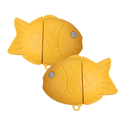 AirPods 1/2 鯛魚燒造型 藍芽耳機 保護套