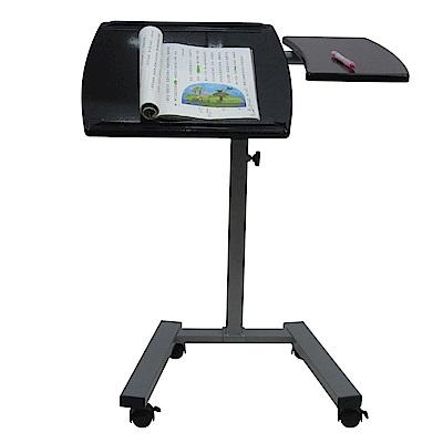 雙檯面升降便利桌/筆電桌(兩色)