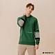 Hang Ten-男裝--撞色色塊連帽T恤-綠色 product thumbnail 1