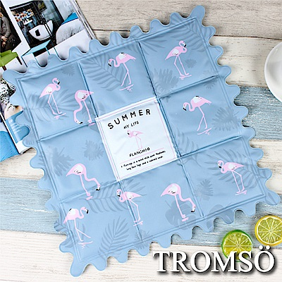 TROMSO北歐夏日沁涼冰墊-H夏日火鶴鳥