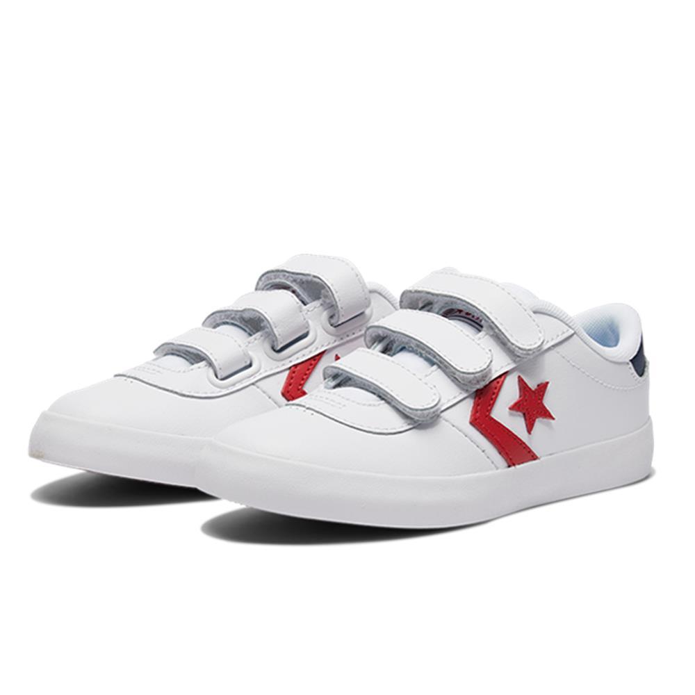 Converse  中大童休閒鞋 -363767C 白