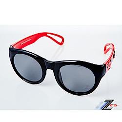 【Z-POLS】兒童專用矽膠軟質彈性壓不壞 Polarized寶麗來偏光太陽眼鏡S08