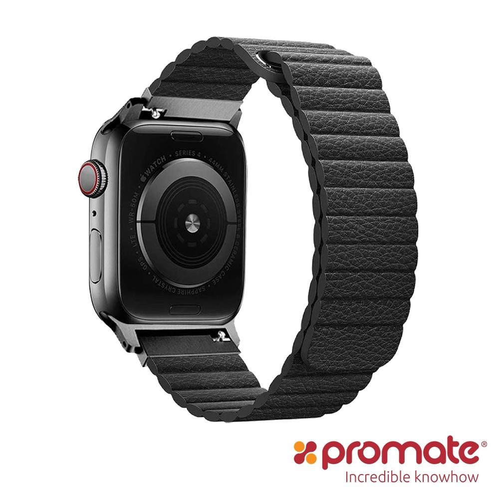 Promate Apple Watch 42/44mm高質感磁吸式錶帶(Lavish)