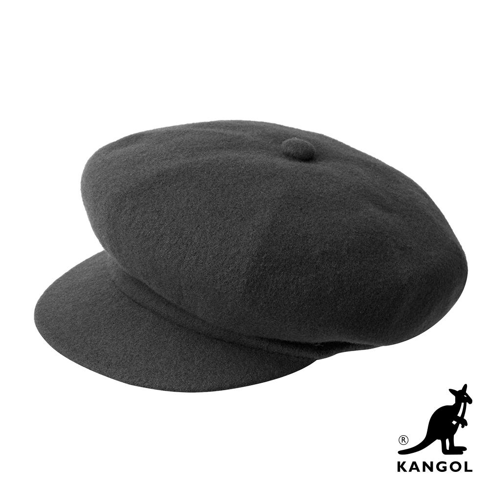 KANGOL-WOOL 報童帽-深灰色