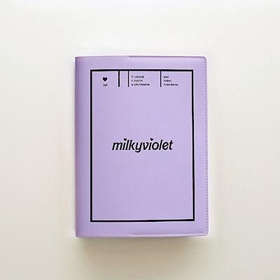 Funnymade 夢想家萬用收納書套(A5)-紫羅蘭