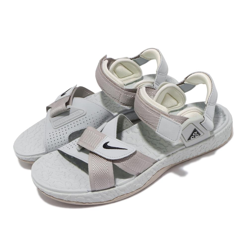 Nike 涼鞋 ACG Air Deschutz 運動 男女鞋 經典款 夏日 戶外 輕便 潮流 穿搭 灰 綠 DC9093200
