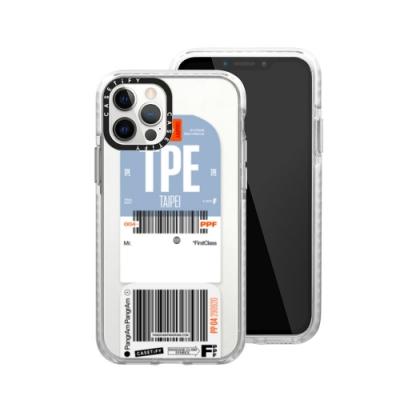 Casetify iPhone 12/12 Pro 耐衝擊保護殼-城市通行-台北