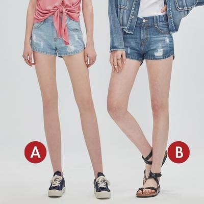[時時樂限定]BRAPPERS 女款 鬆緊帶設計短褲(多款選)
