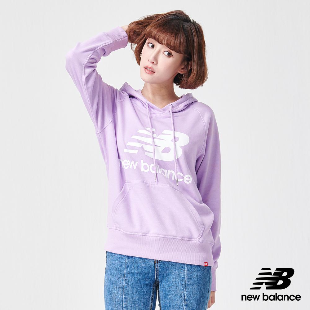 New Balance 連帽長袖上衣_AWT91523DVG_女性_粉紫