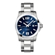 LONGINES浪琴 征服者300米藍面機械腕錶(L37784966)x43mm product thumbnail 1