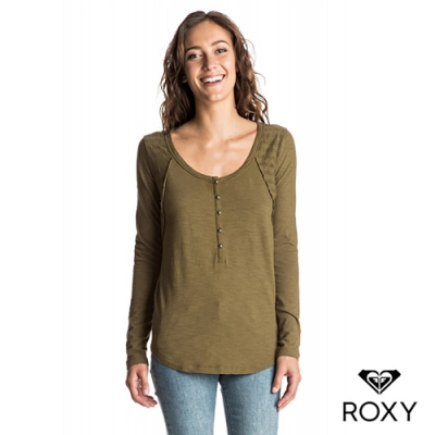 【ROXY】HERE TODAY 上衣 軍綠