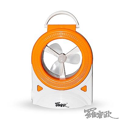 羅蜜歐-USB-AC-充電-插電2用LED燈風扇