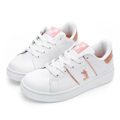 DISNEY 魅力米奇電繡休閒鞋-玫瑰金-DW56021H