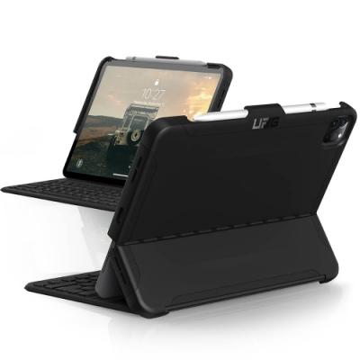 UAG iPad Pro 12.9吋(2020)耐衝擊鍵盤專用保護殻-黑
