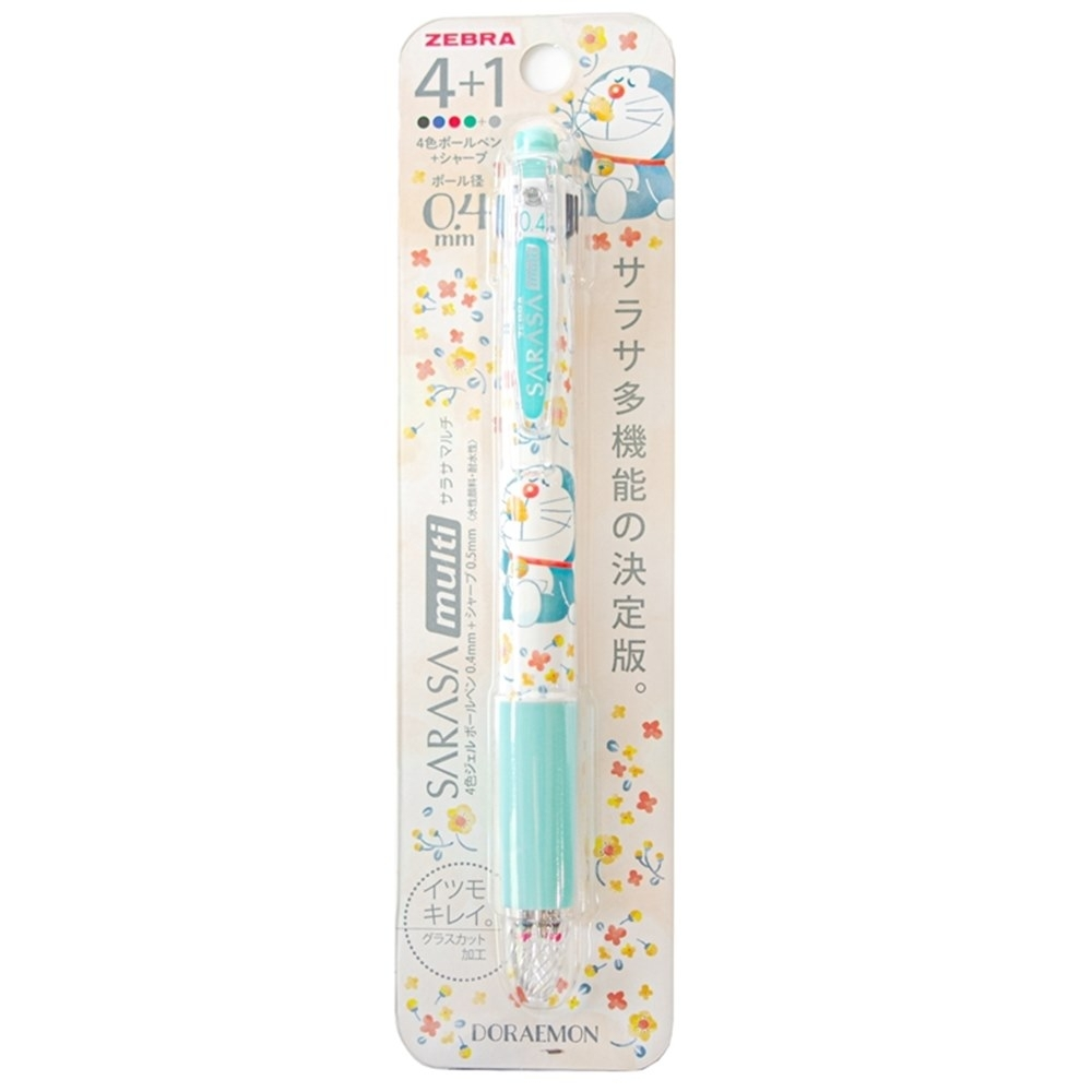ZEBRA 哆啦A夢SARASA multi多功能4+1原子筆自動鉛筆