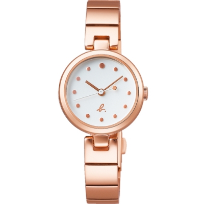 agnes b.watch 簡約法式精神時尚錶(BH8059X1)25mm / VJ21-KRV0K