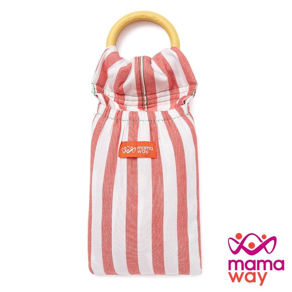 【mamaway 媽媽餵】番茄起司育兒背巾(有機棉)