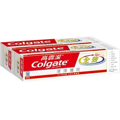 高露潔 全效牙膏 清淨薄荷 (膏狀) 150gX2入