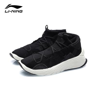 LI-NING 李寧 悟道 Kung Fu Winterized運動時尚系列籃球休閒鞋 標準黑 男款 (AGBQ073-1C)