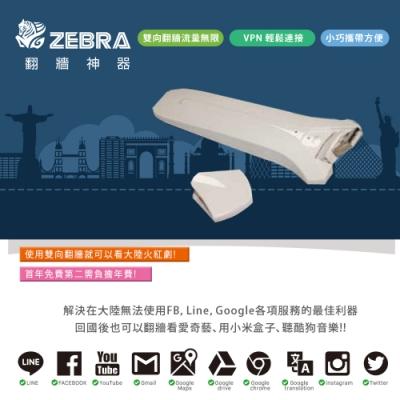 Zebra Mini VPN 科學上網路由器-USB旅行版 翻牆